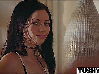 TUSHY Beautiful Teen Karly Baker First Anal