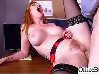 (Lauren Phillips) Round Big Boobs Office Girl Love Hardcore Sex clip-03
