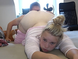 Fucking beautiful teen girl with big round ass