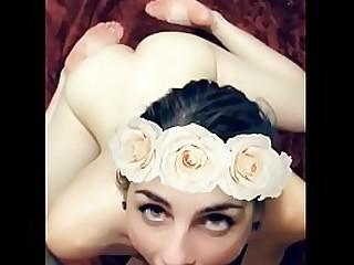 @BonnieBowtie 18 yo LEAKED Snapchat Compilation ( Big Cumshot )