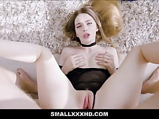 Hot Young Tiny Teen With Nice Tits Fucked POV